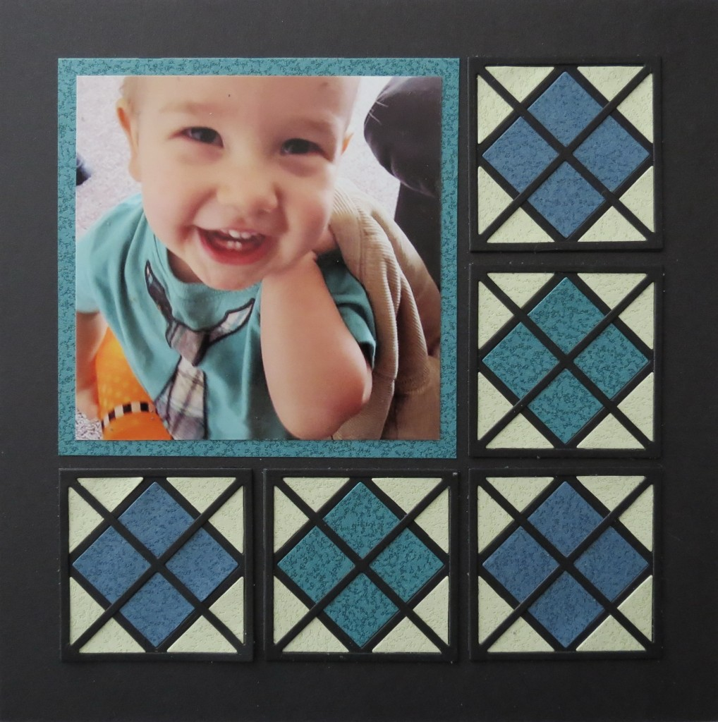 MM Graphic Shapes Dies Framed! Argyle Layout