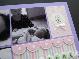 MM-TYS Welcome Baby title block scallop border detail