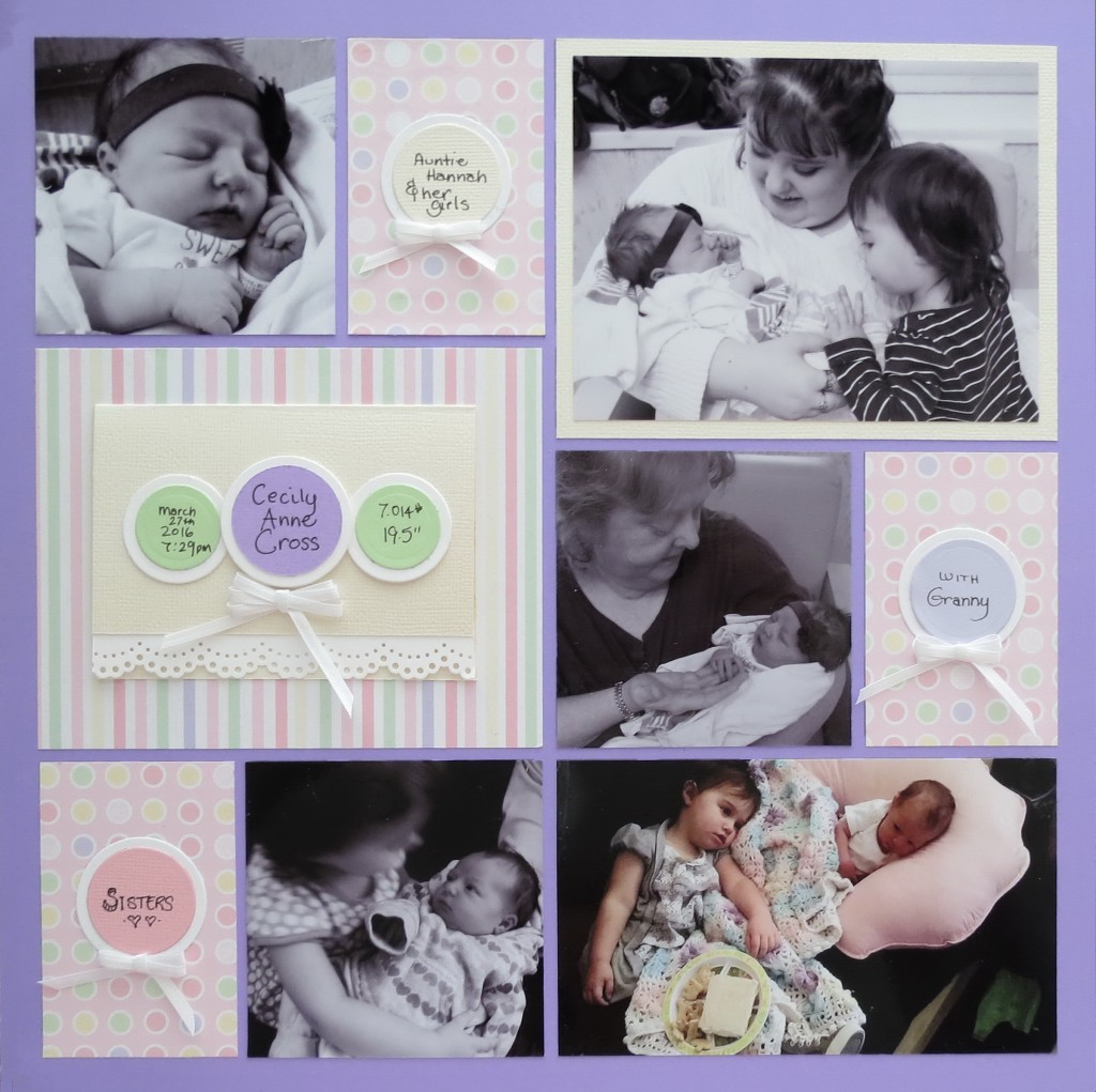 MM-TYS Welcome Baby page two with journal card detail