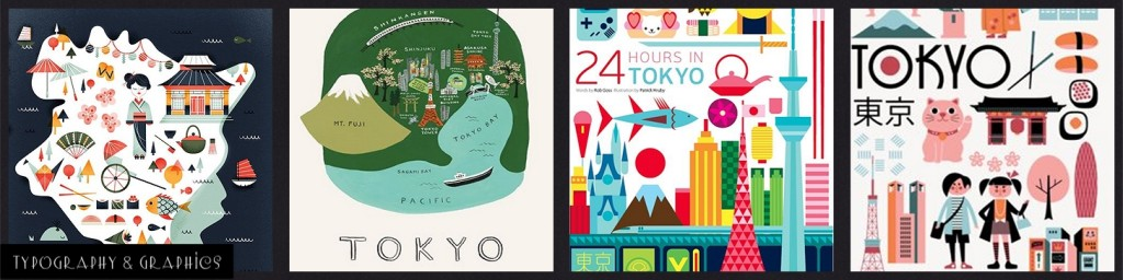 Typography & Graphics: MM Inspiration Tokyo Cherry Blossoms