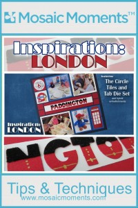 MM Inspiration: London ideas for incorporating a touch of London into your scrapbook pages