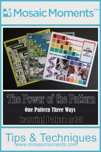 MM One Pattern Three Ways The Power of the Pattern