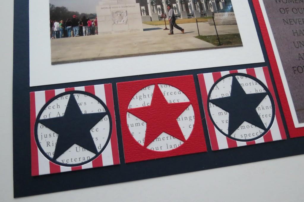 MM TYS DC Stars & Stripes star border complete
