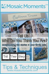 MM TYS Scrapbooking the stories in your family tree