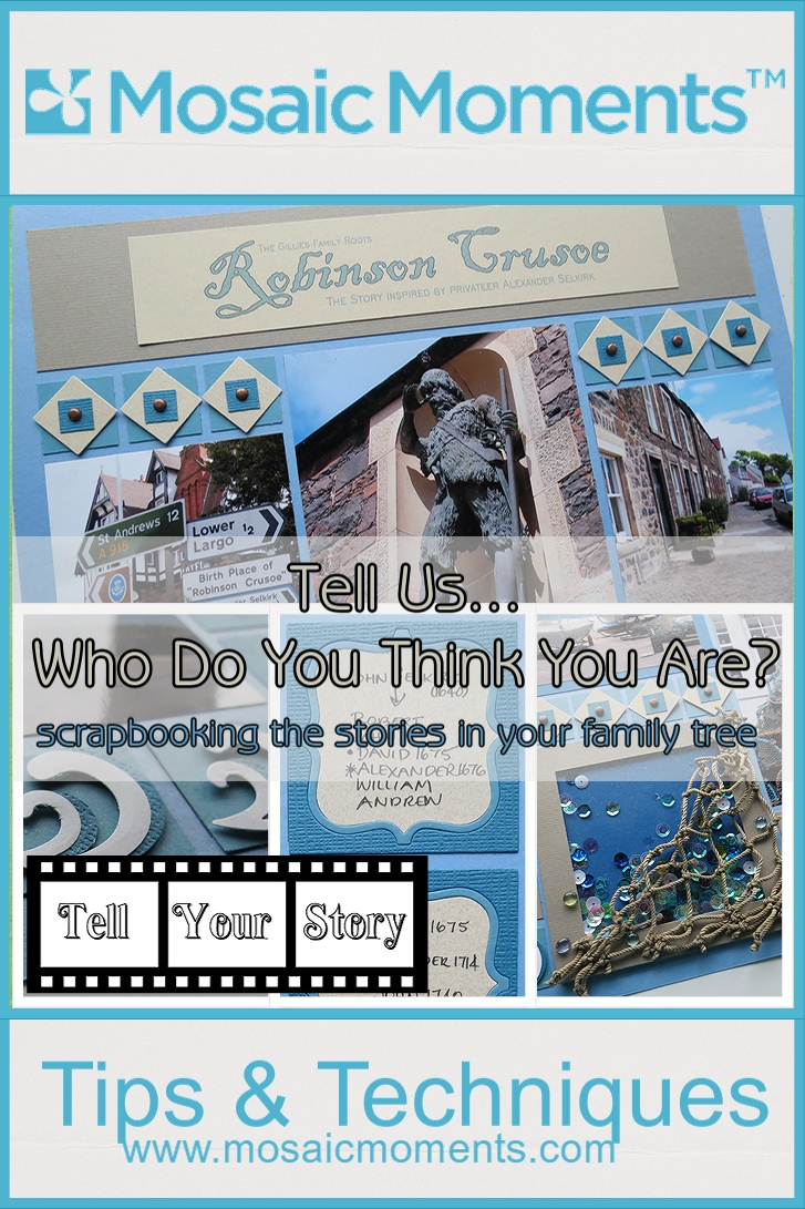How to scrapbook your family tree - Mm Tys Scrapbooking The Stories In Your Family Tree