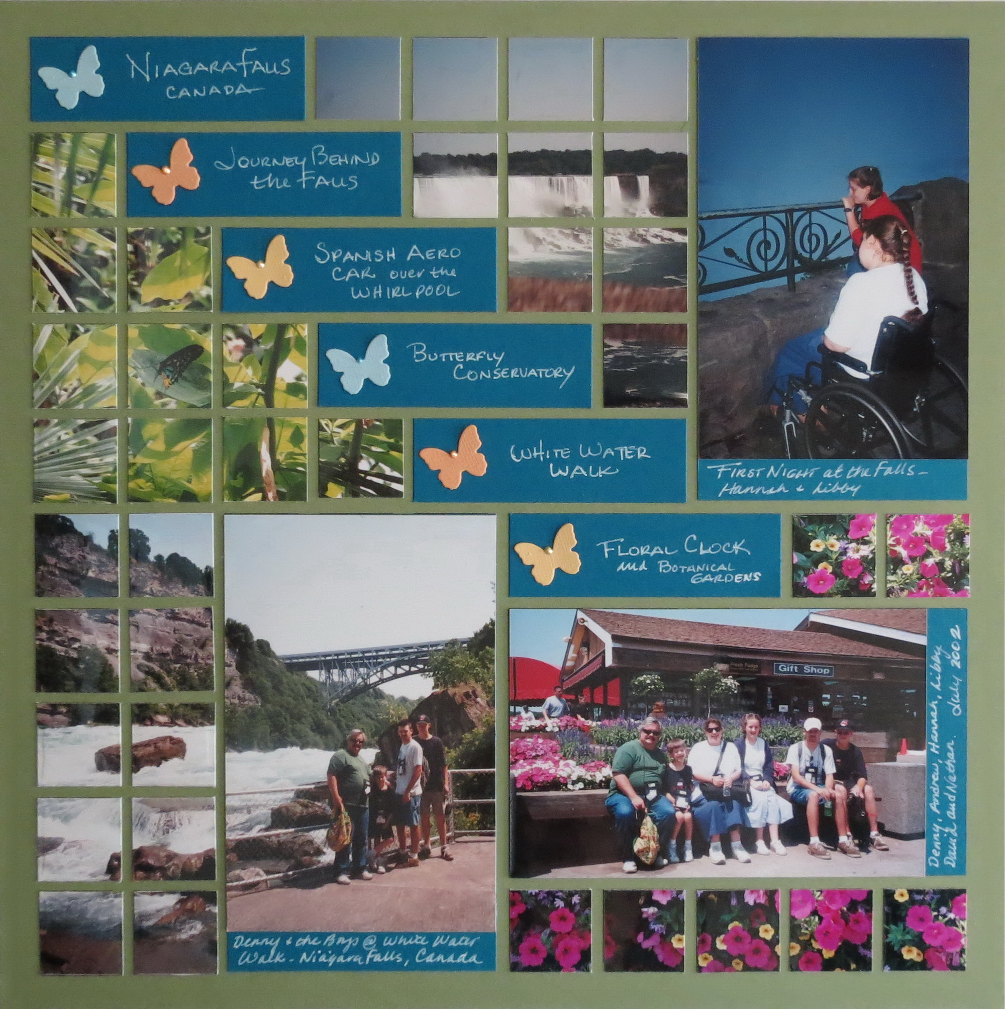 Scrapbook ideas niagara falls - Mm The Power Of The Pattern Niagara Falls Canada Pattern 135