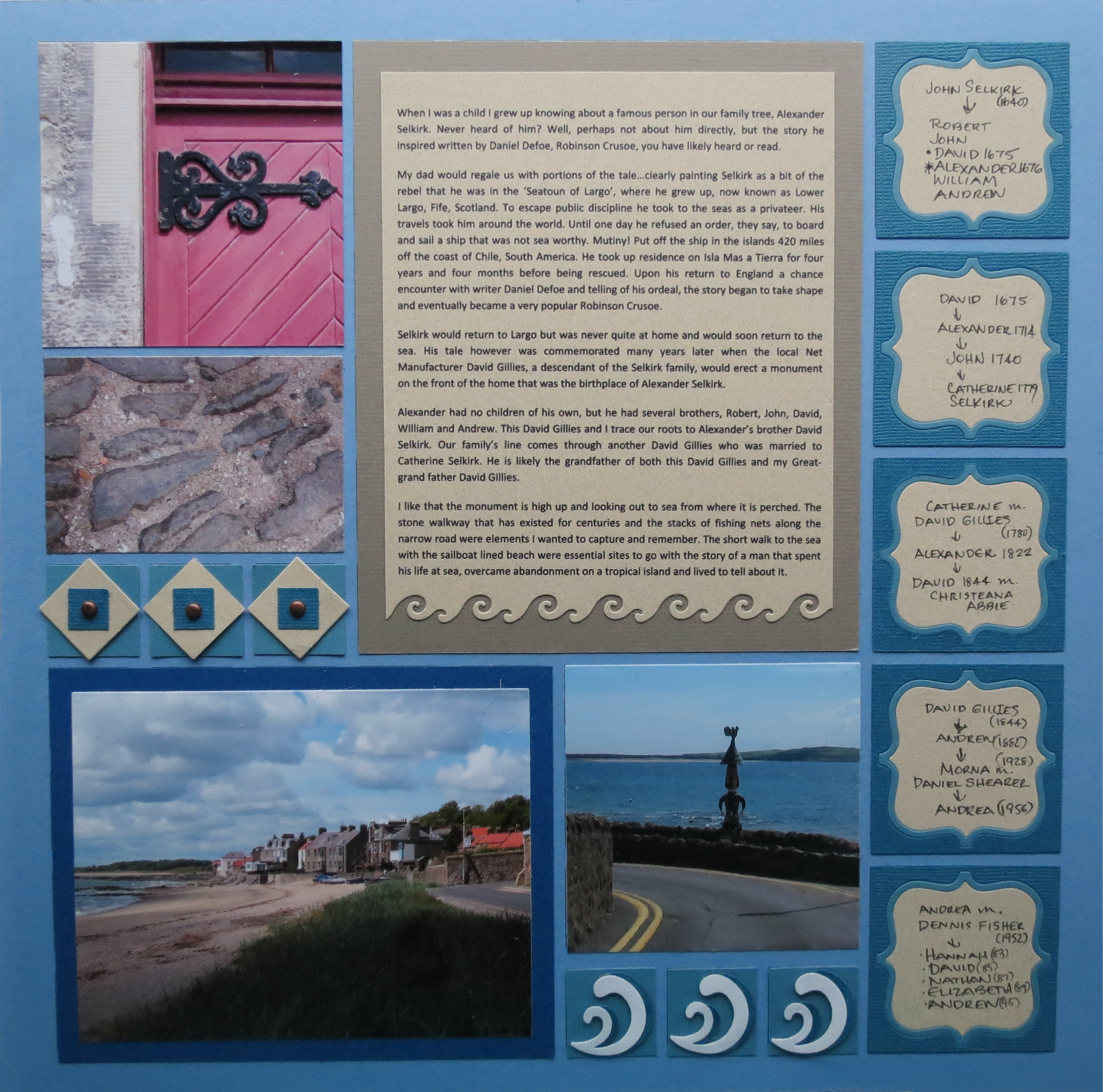 How to scrapbook your family tree - Mm Tys Scrapbooking Stories In Your Family Tree