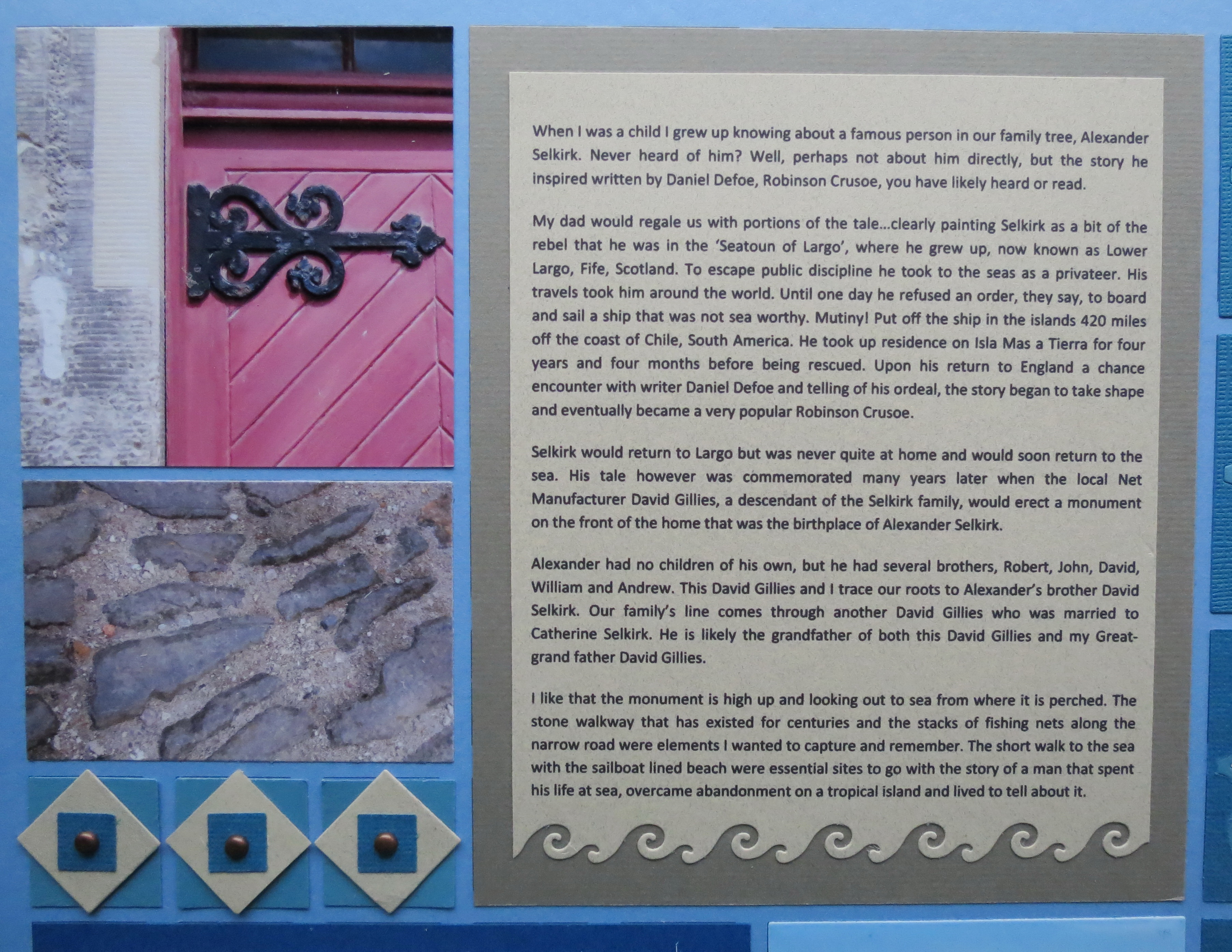 How to scrapbook your family tree - Mm Tys Scrapbooking Stories In Your Family Tree Page 3