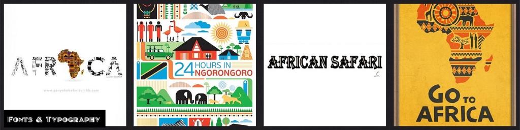 MM INSP African Safari Fonts & Typography