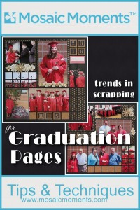 MM Trends in Scrapbooking for Graduation Pages