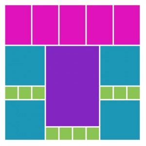 MM Pattern #267 a symmetrical pattern