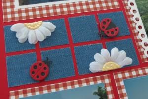 MM OTW Scrapbook Trends: Fabric denim and lace