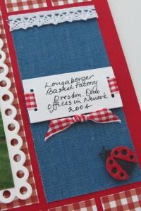 MM OTW Scrapbook Trends: Fabric denim and Lace New MM Slider die