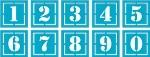 Number Die Set