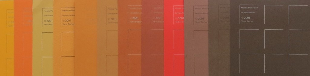 A variety of grid colors to choose from now featuring Chili Pepper
