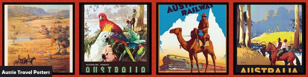 MM_INSP_AO Australian Outback: Travel Posters