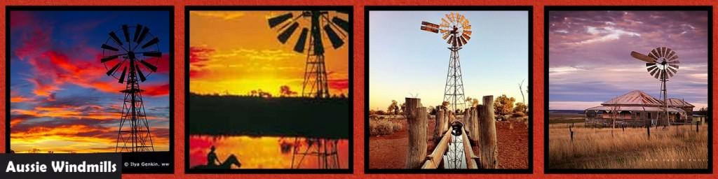 MM_INSP_AO Australian Outback: Windmills