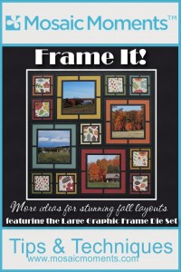 MM Fall Layout ideas featuring Large Graphic Frame Die Set
