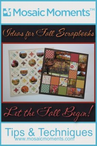 MM Ideas for Fall Scrapbooks