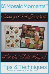 MM Ideas for Fall Scrapbooks