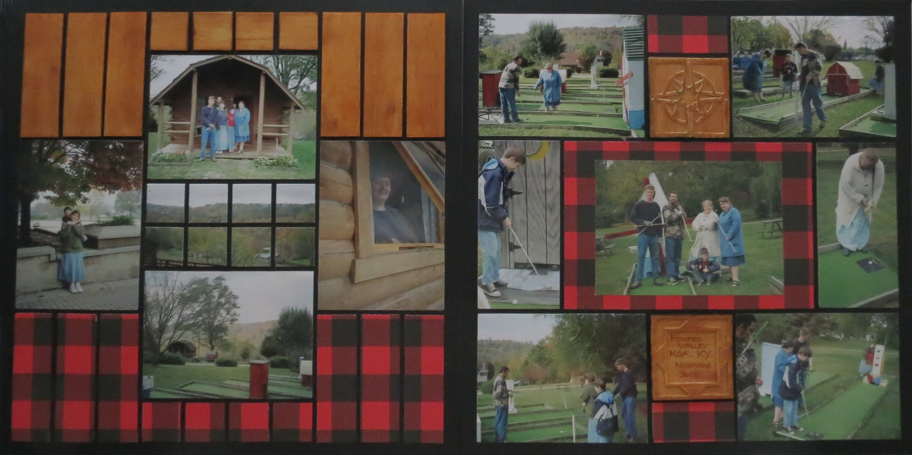 3 Layout Ideas For Rustic Scrapbook Pages