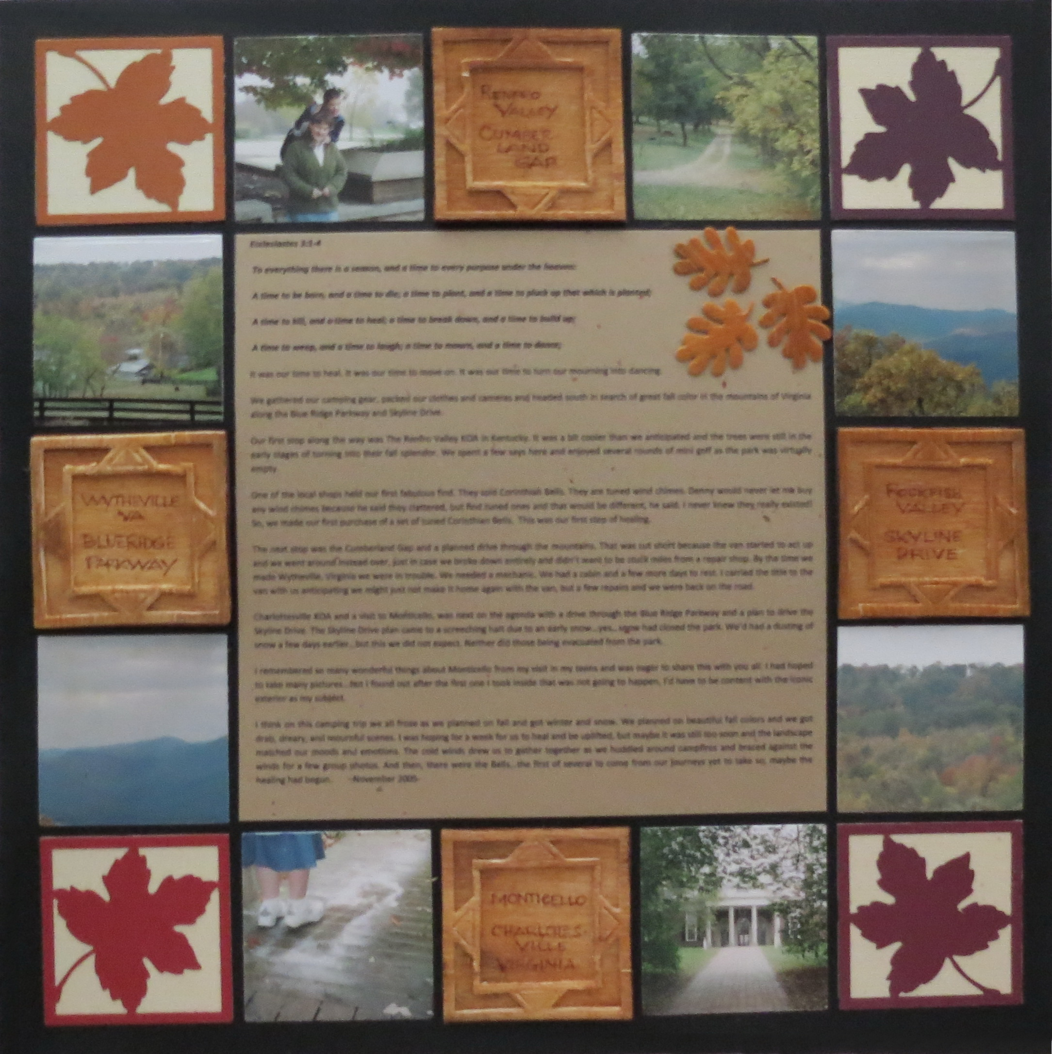 Scrapbook ideas and themes - Mm Tys Rustic Scrapbook Ideas