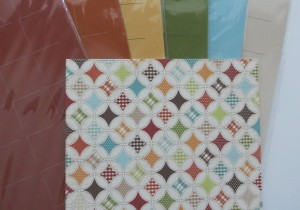 "MM 3-in-1 Pattern #101 Memories Fall Quilt Layout pattern papers by ""Simple Stories"""