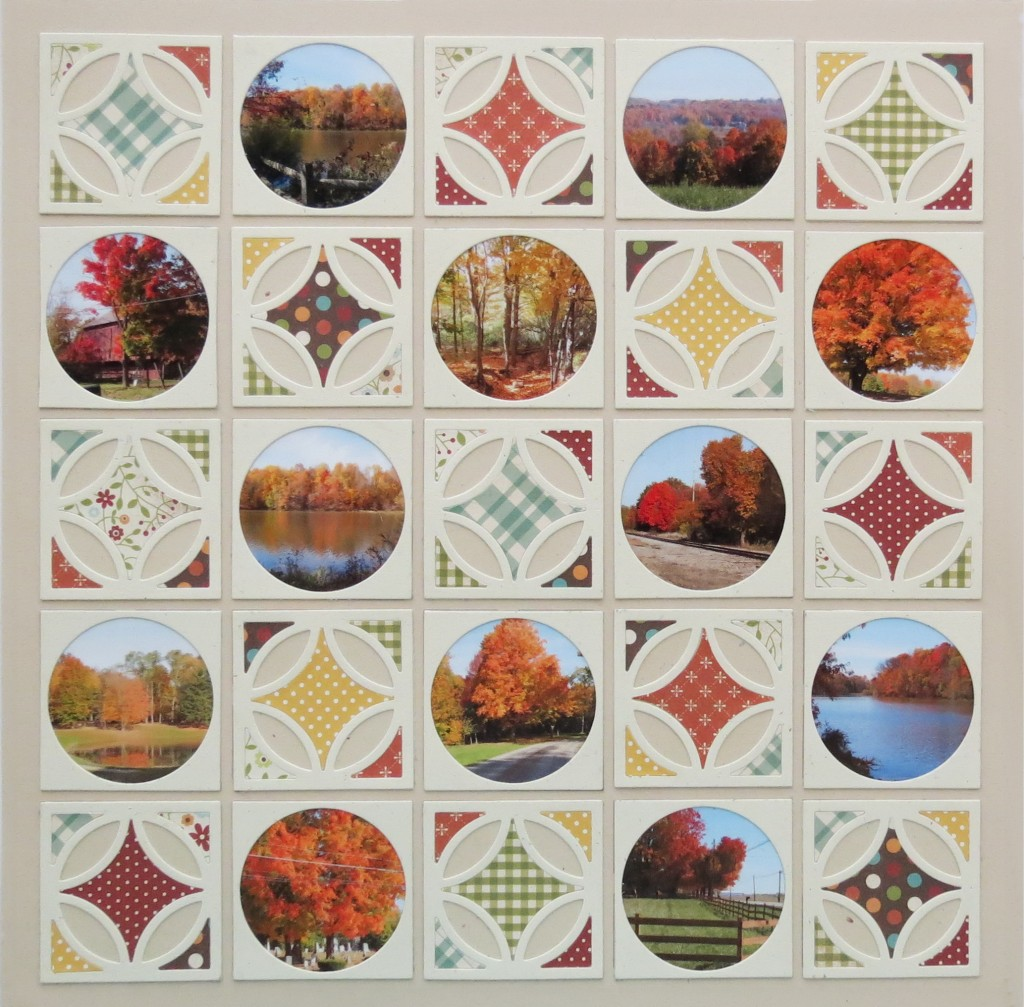 MM 3-in-1 Pattern #101 Memories Fall Quilt Scrapbook Page Pattern