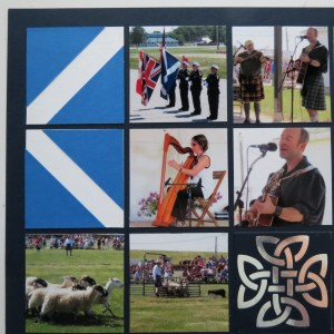 Mosaic Moments Celtic Knot Die Set Scottish Saltire Blocks