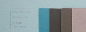 MM Colors: Robin's Egg Grid Paper
