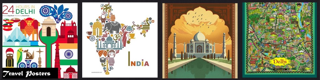 MM INSP India Travel Posters