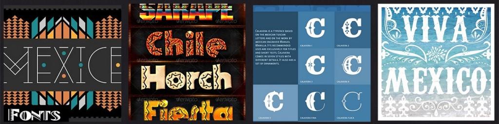 INSP Mexico Fonts