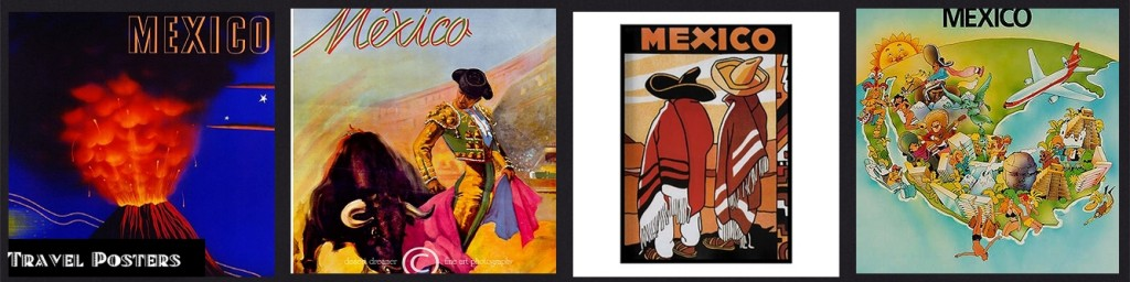 INSP Mexico Travel Posters