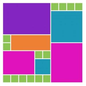 Mosaic Moments Pattern #173 a puzzle pattern