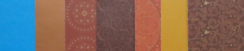 MM patterned paper palette