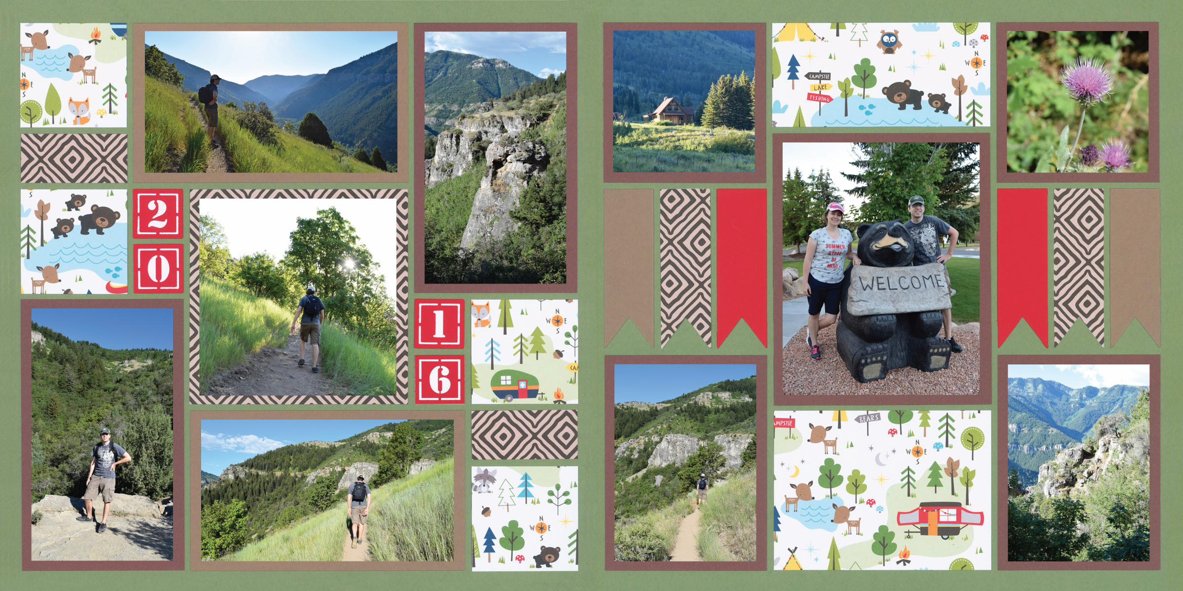 Mosaic Moments Page Kits