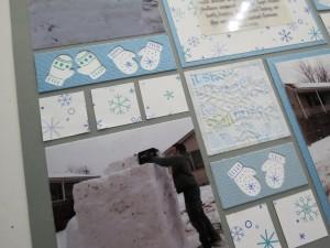 MM Scrapping Winter Mittens Border Die & Snowflake Set 1