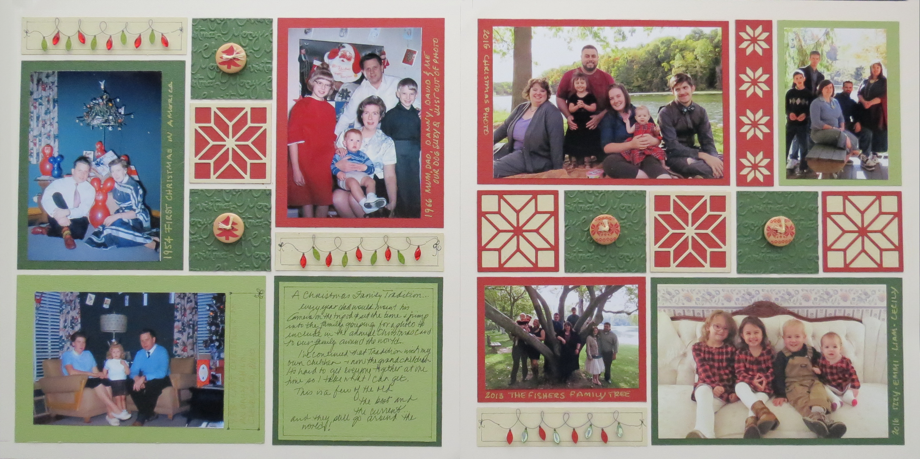 How to scrapbook photos - We Used To Have Distinct Holidays And They Didn T Begin Following Back To School Sales And Continue Through New Year S Eve