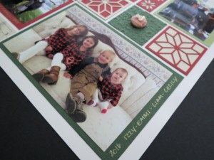 MM TYS Christmas Traditions using border for journal bits