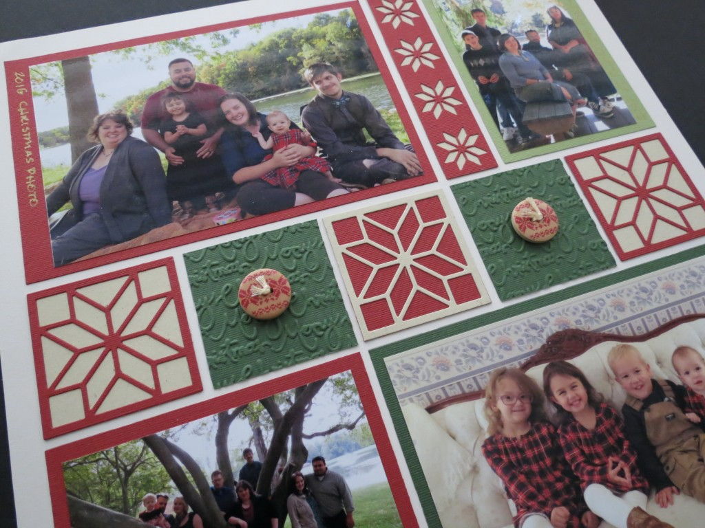 MM TYS Christmas Traditions embossed tiles and Carpenter Star tiles