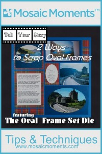 MM TYS 2 Ways to Scrap Oval Frames