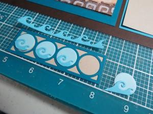 Mosaic Moments Design Element detail