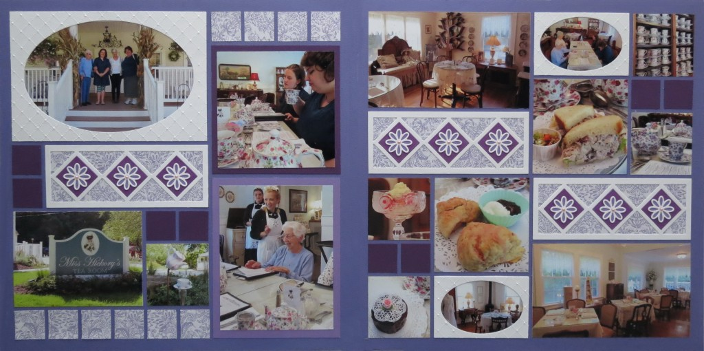 Two Page layout featuring the Triple Diamond Die and the Oval Frame Die Set