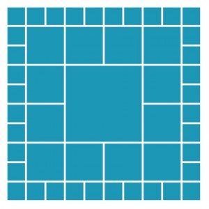 Mosaic Moments Pattern #122 Mostly Squares