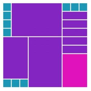 Mosaic Moments Pattern #279 a puzzle pattern