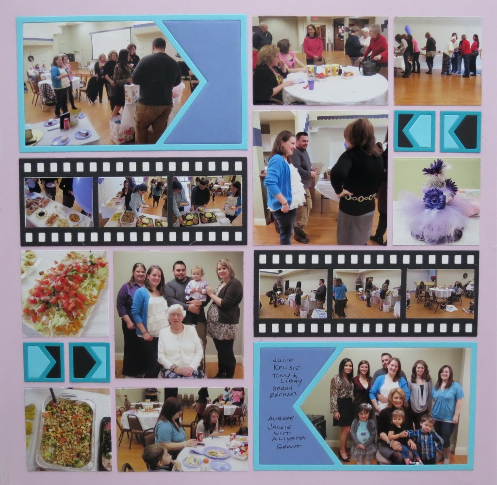 Page two MM Pairings Point the Way Die Set Lilac Mosaic Moments Gird Paper
