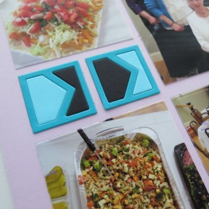 "MM Pairings Point the Way Die Set Lilac Mosaic Moments Gird Paper 1"" square die"