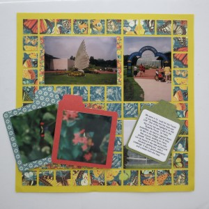 Mosaic Moments Nested Pockets Die Set and Sunshine Grid Paper Tabbed files with photos