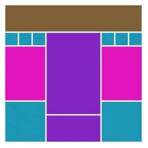Mosaic Moments Pattern #204 symmetrical