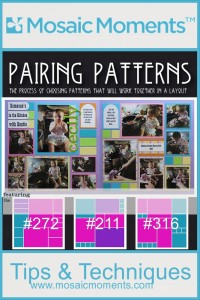 Mosaic Moments Pairing Patterns Arch Tile and Tab Die set